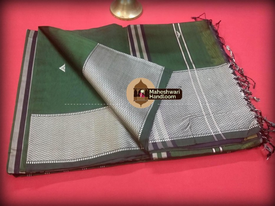 Maheshwari  Resham Buti- Motifs Saree