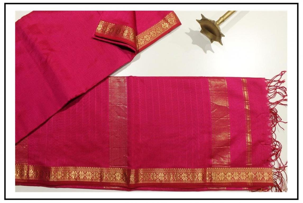 Garbha Reshami Silk Saree