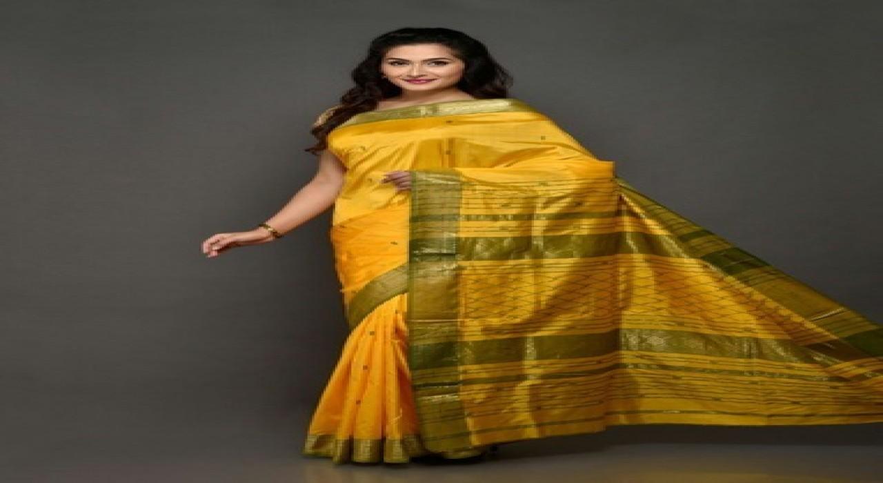 Maheshwari Mulberry  Pure Silk Sarees